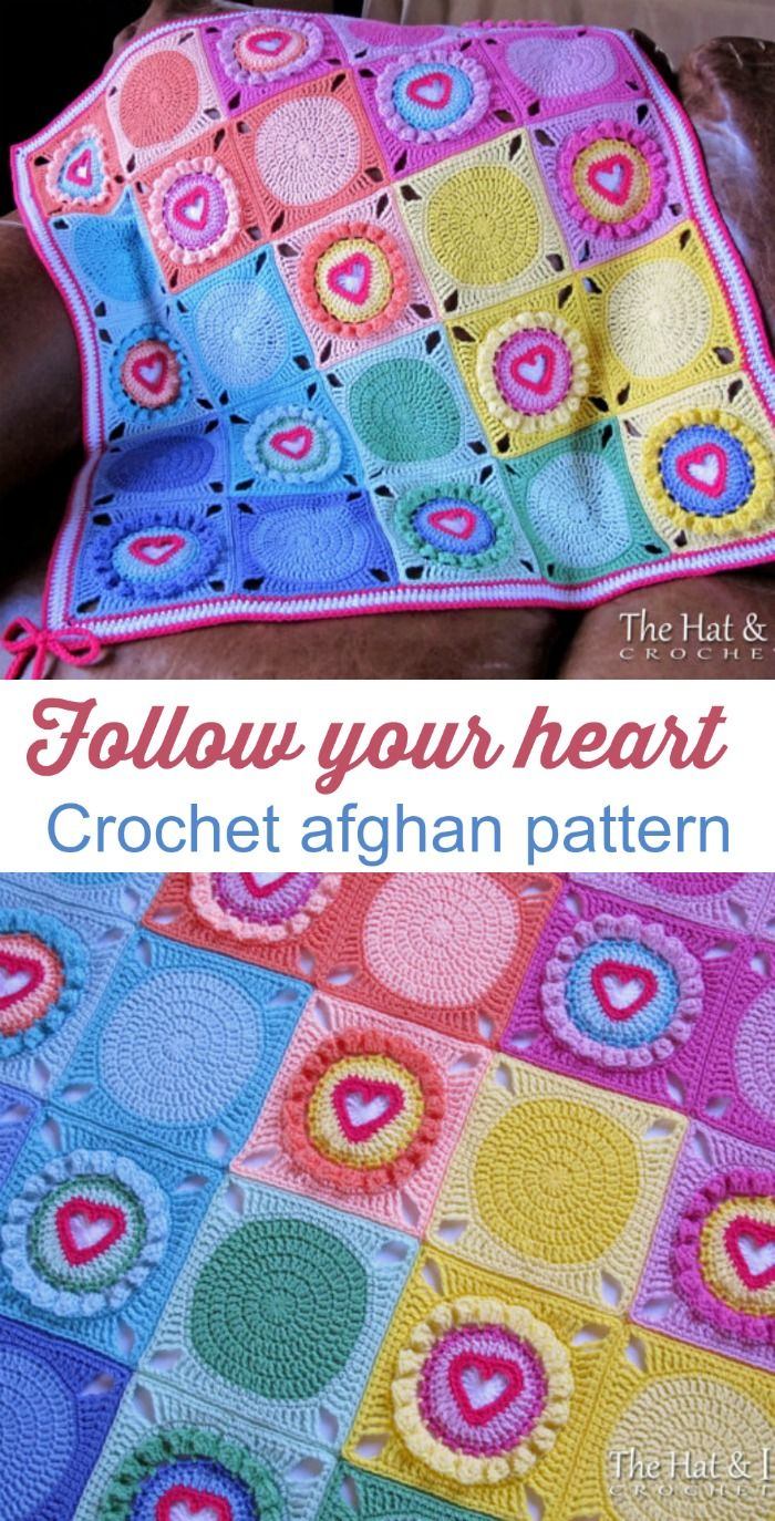 Crochet pattern follow your heart a crochet heart afghan crochet pattern follow your heart a crochet heart afghan pattern crochet blanket pattern crochet heart blanket instant pdf download bankloansurffo Images