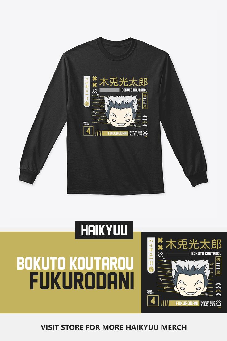 Bokuto Koutarou Fukurodani Long Sleeve T Shirt In 2020 Bokuto Koutarou Haikyuu Haikyuu Fanart