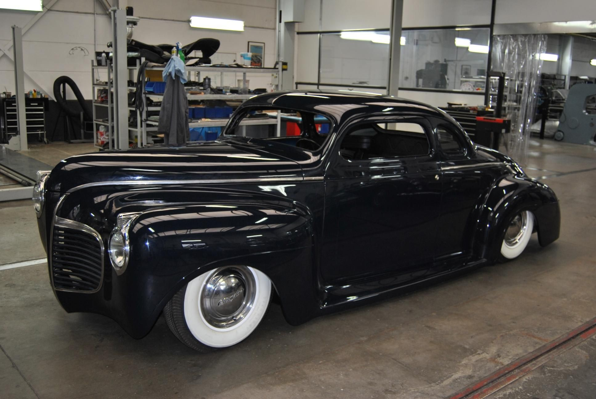 Poelmans Built 1941 Plymouth Side Taildraggers Pinterest Coupe Chopped