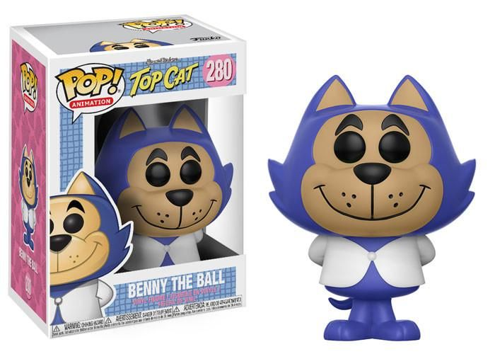 1 in 6 chance of Chase Variant Benny the Ball POP #1 POP Funko Hanna Barbera
