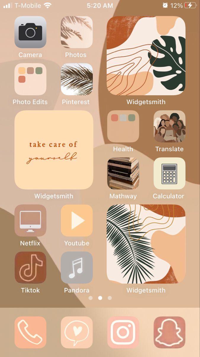 Maddy G Megallay Profile Pinterest *ios 14* aesthetic iphone customization ideas + organization tips/tricks! pinterest