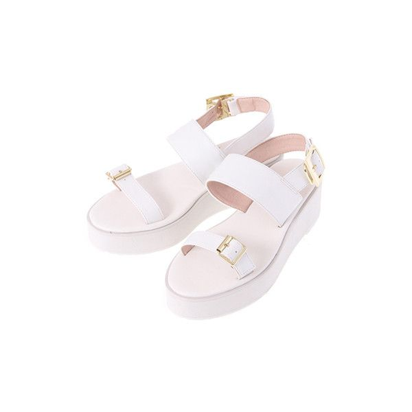 E hyphen world gallery BonBon ❤ liked on Polyvore featuring shoes