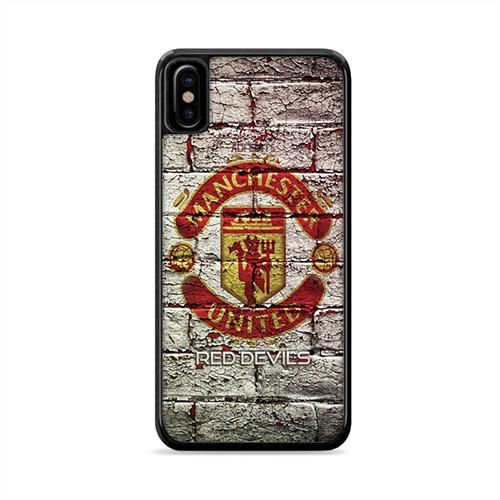 manchester united iphone x case