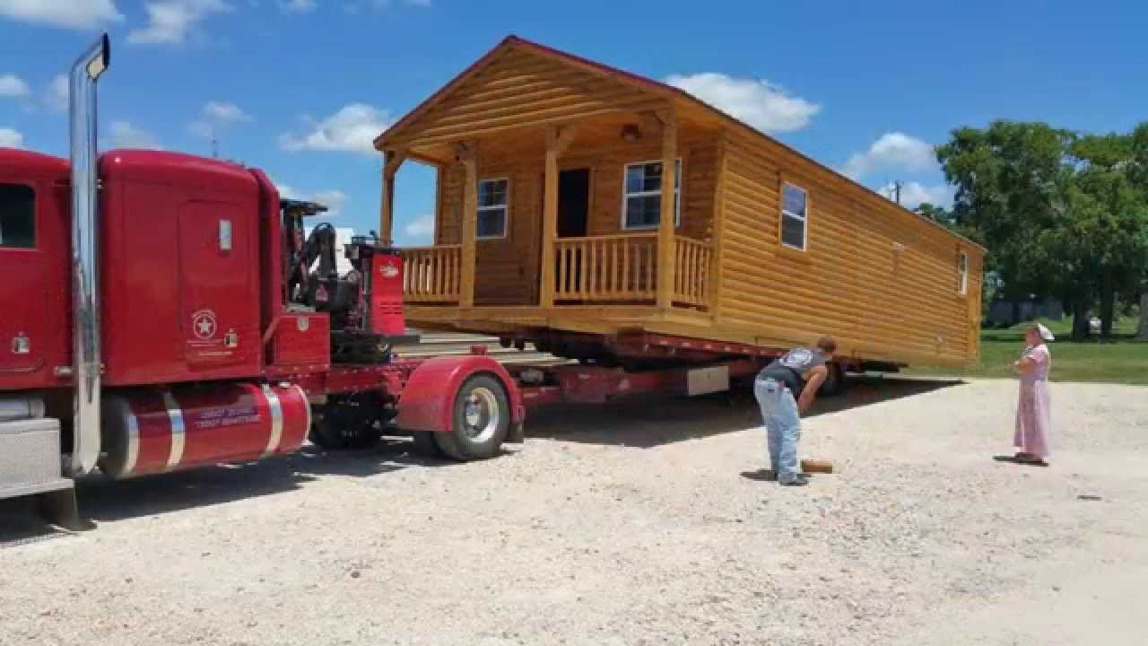Mobile Home Log Cabins