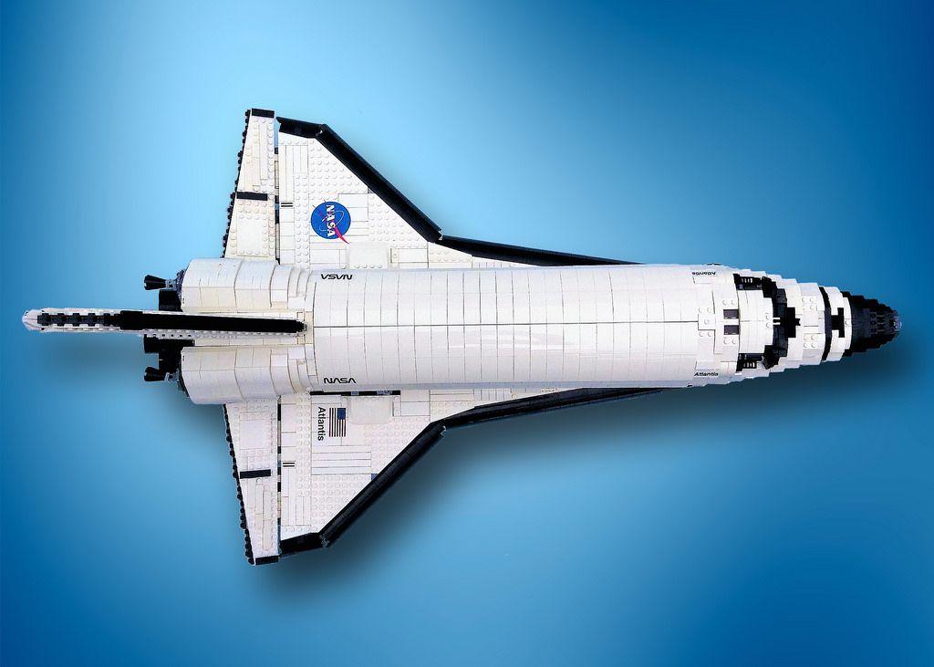 Lego Ucs Space Shuttle Atlantis Lego Space Shuttle Space Shuttle Lego Space