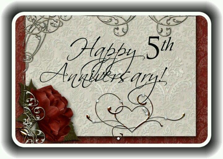 Happy Anniversary! Happy 5th Anniversary! (I Like To Pin