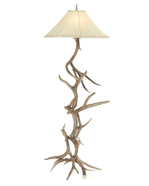sale elk antler lamps deer lamp whitetail floor