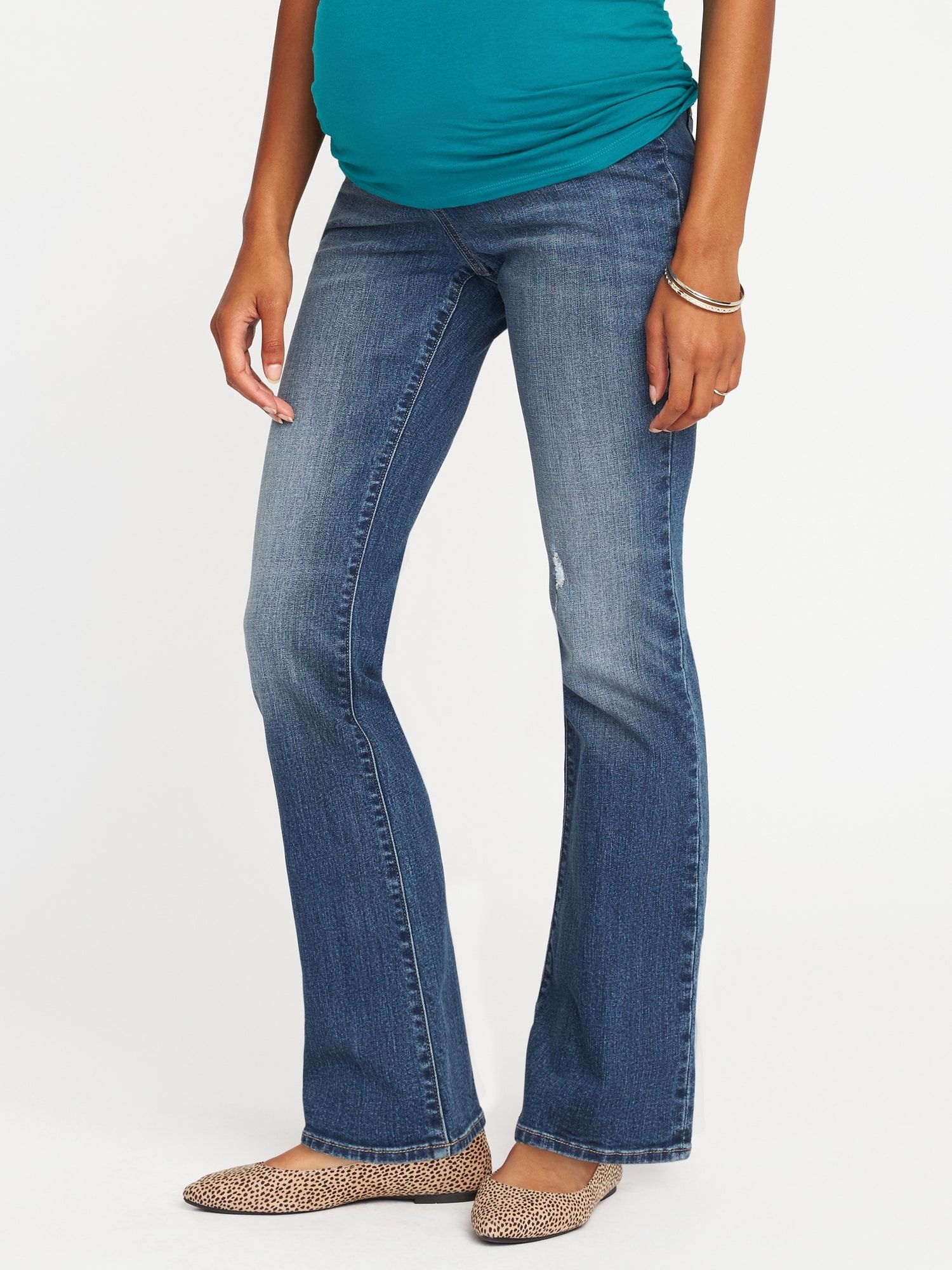 29dabcb99e product photo Old Navy Maternity Jeans, Cut Jeans, Bell Bottom Jeans, Shop  Old