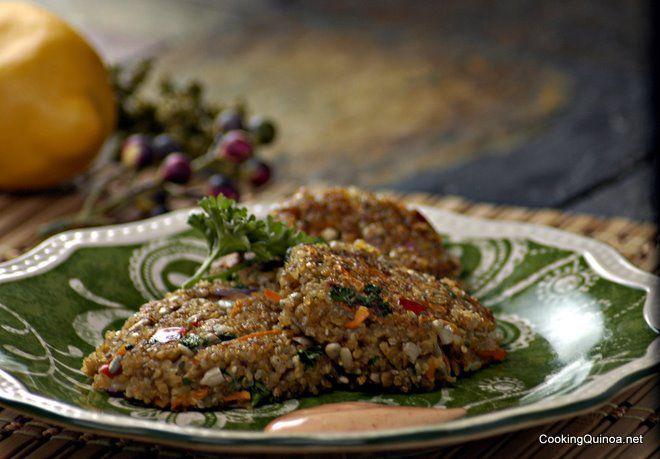 Super Clean Quinoa Patties