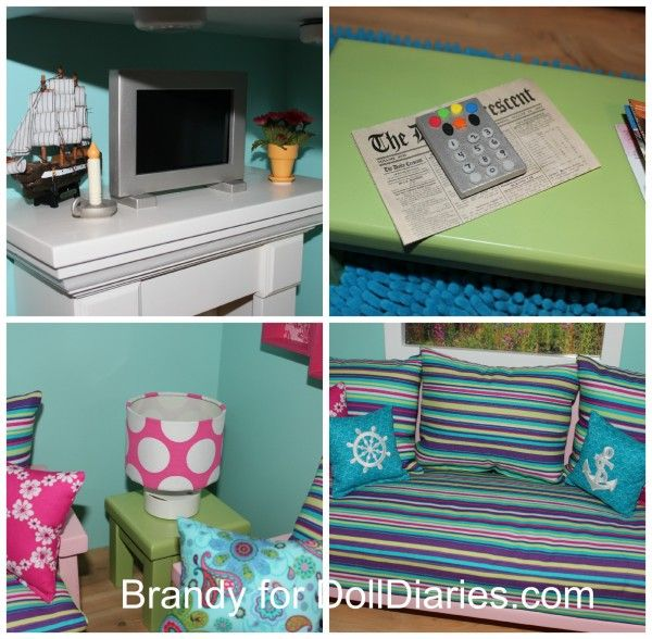 American Girl Doll Living Room Furniture: Decorate Your Dollhouse Living Room
