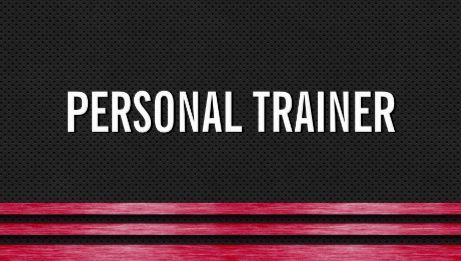 Bold red and black metal stripes personal trainer fitness business bold red and black metal stripes personal trainer fitness business cards httpwww reheart Gallery