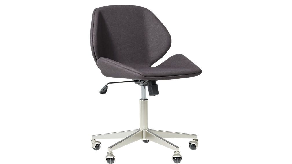 Miltongreyofficechair3qff18 Modern Office Chair Office Chair Grey Office