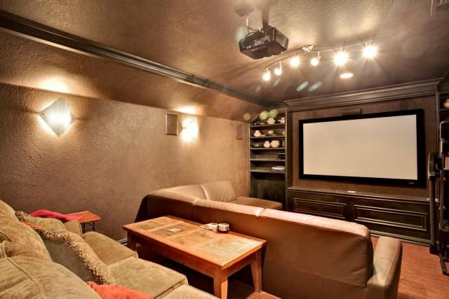 River Hollow Theater Room Trulia Homes Home