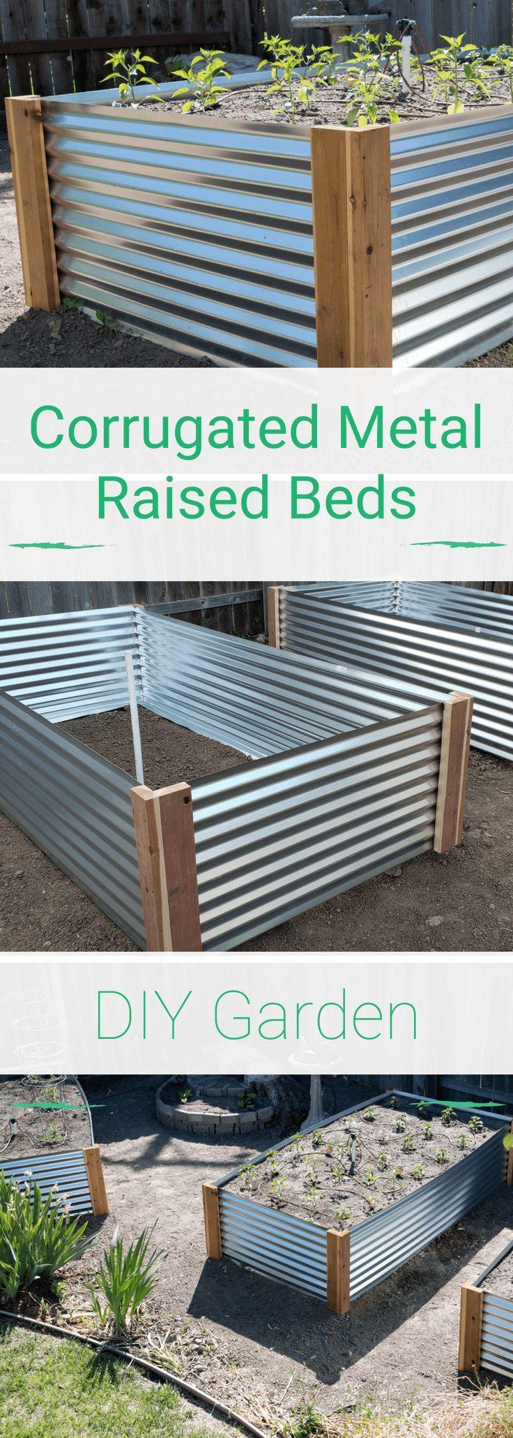 How To Build A Raised Metal Garden Bed Metal Garden Beds 640 x 480