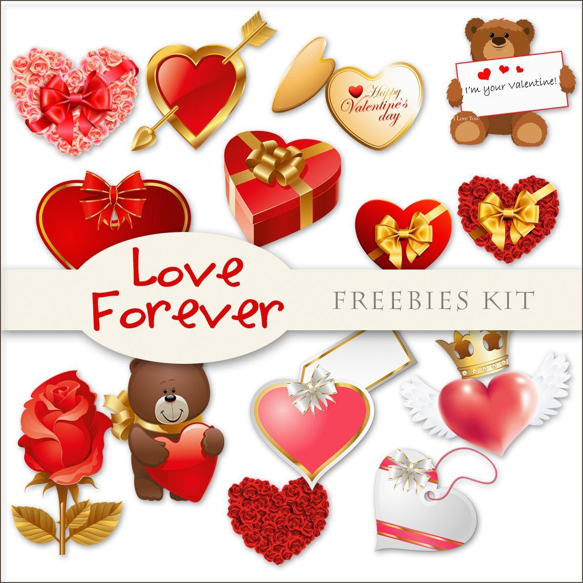 Scrap. DOT: New Freebies Kit - Love Forever