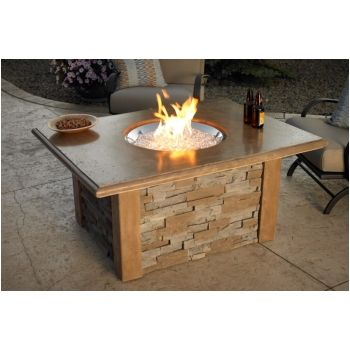 Sierra Fire Table with Round Burner