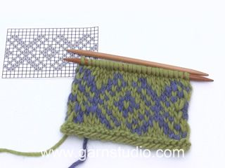 Photo of Fair Isle – Einstrickmuster mit 2 Farben (Tutorial Video)