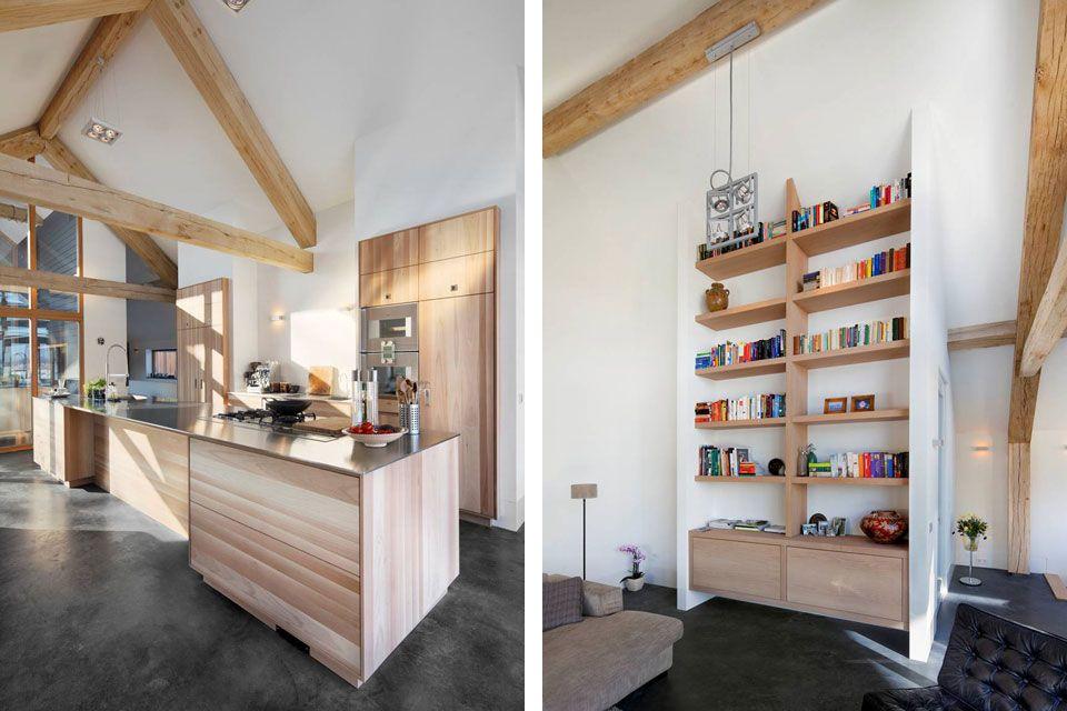 Schuurwoning-Leusden-I-interieur   Ideeën D5   Pinterest
