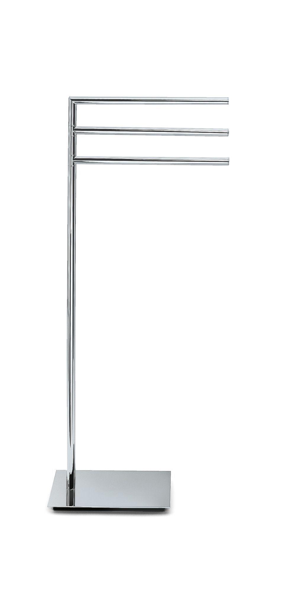 Dwba Standing Towel Rack Stand Bar Towel Holder 3 Tier Triple Bar Holder Chrome Towel Rack Standing Towel Rack Rustic Towel Rack