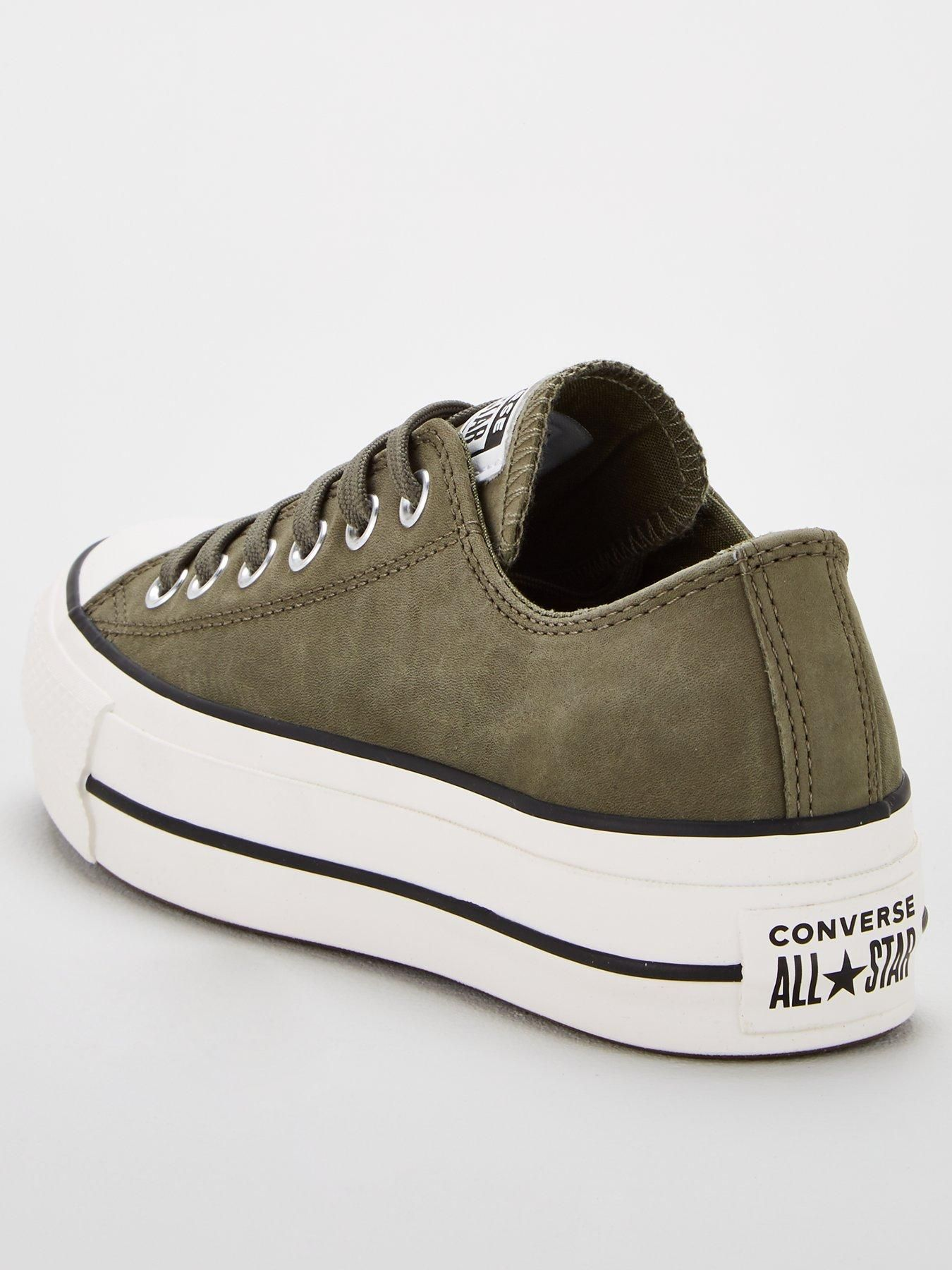 Converse Chuck Taylor All Star Platform Lift Ox Green
