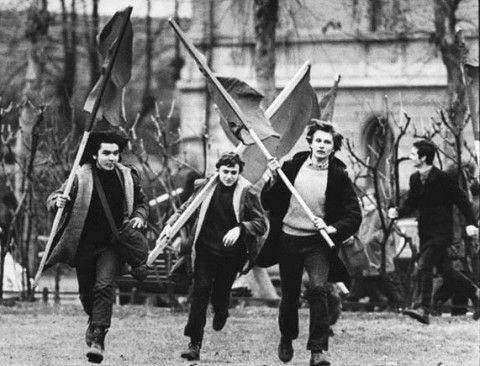 1 maggio 1968: movimento studentesco