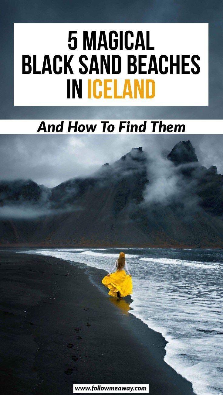 5 mágicas playas de arena negra en Islandia Cómo encontrarlas | mejores cosas que hacer en i …