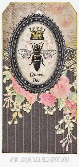 Queen Bee Industrious Stickers