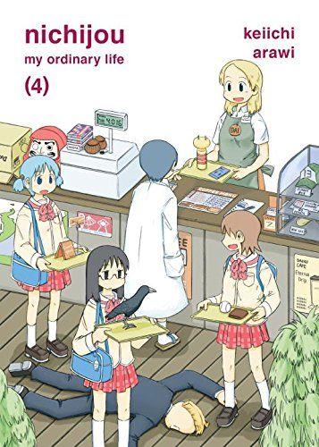 Nichijou 4 By Keiichi Arawi Nichijou Manga Covers Anime