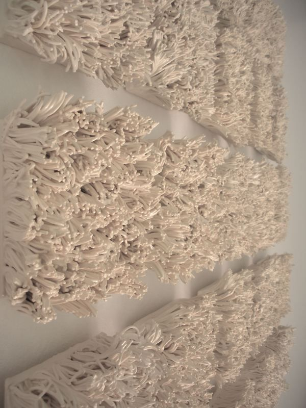 Bloom ceramic tile wall installation by katherine dube via behance bloom ceramic tile wall installation by katherine dube via behance ppazfo