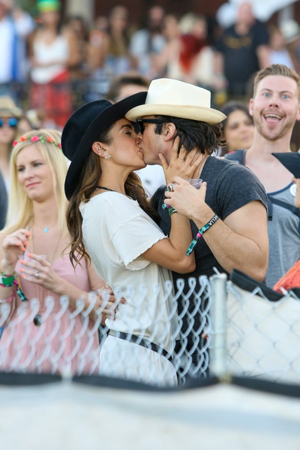 Image from http://i3.mirror.co.uk/incoming/article5506609.ece/ALTERNATES/s615b/Ian-Somerhalder-and-Nikki-Reed-display-their-affection-for-each-other-on-day-2-of-the-Coachella-Music-Festival.jpg.