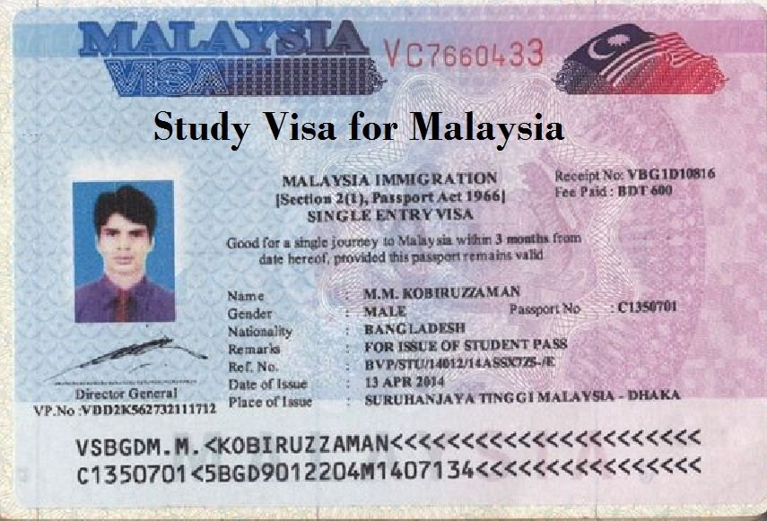 Covering letter for visa malaysia
