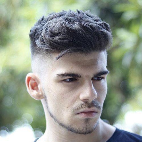 Skin Fade Haircut Bald Fade Haircut 2019 Skin Fade Pompadour