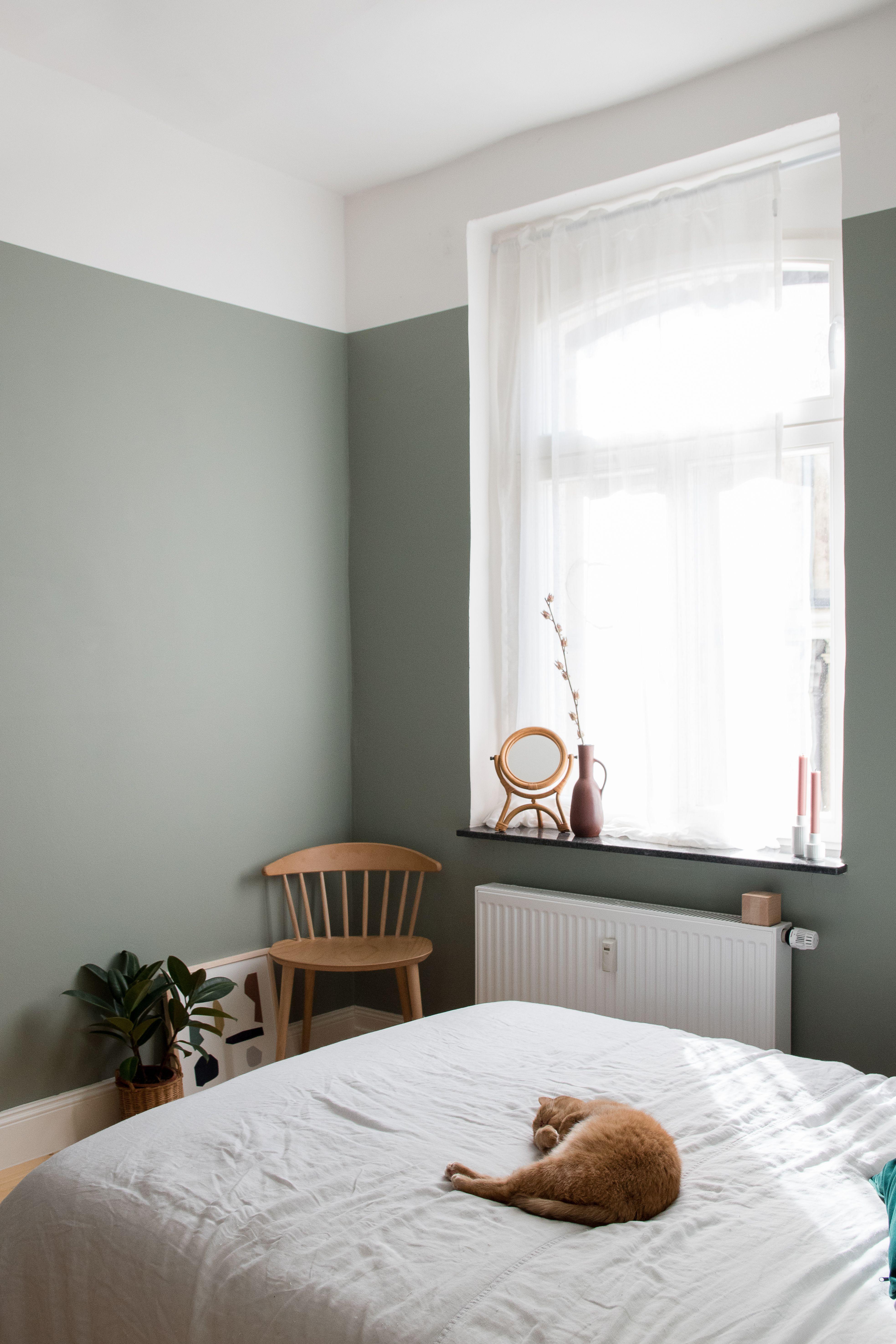 24 Wandfarben Ideen Schlafzimmer Streifen