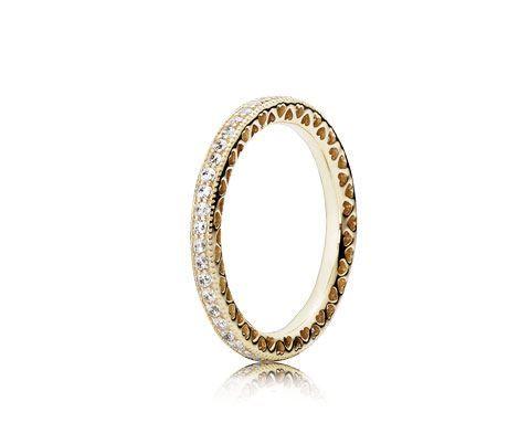 anello pandora fiocco oro