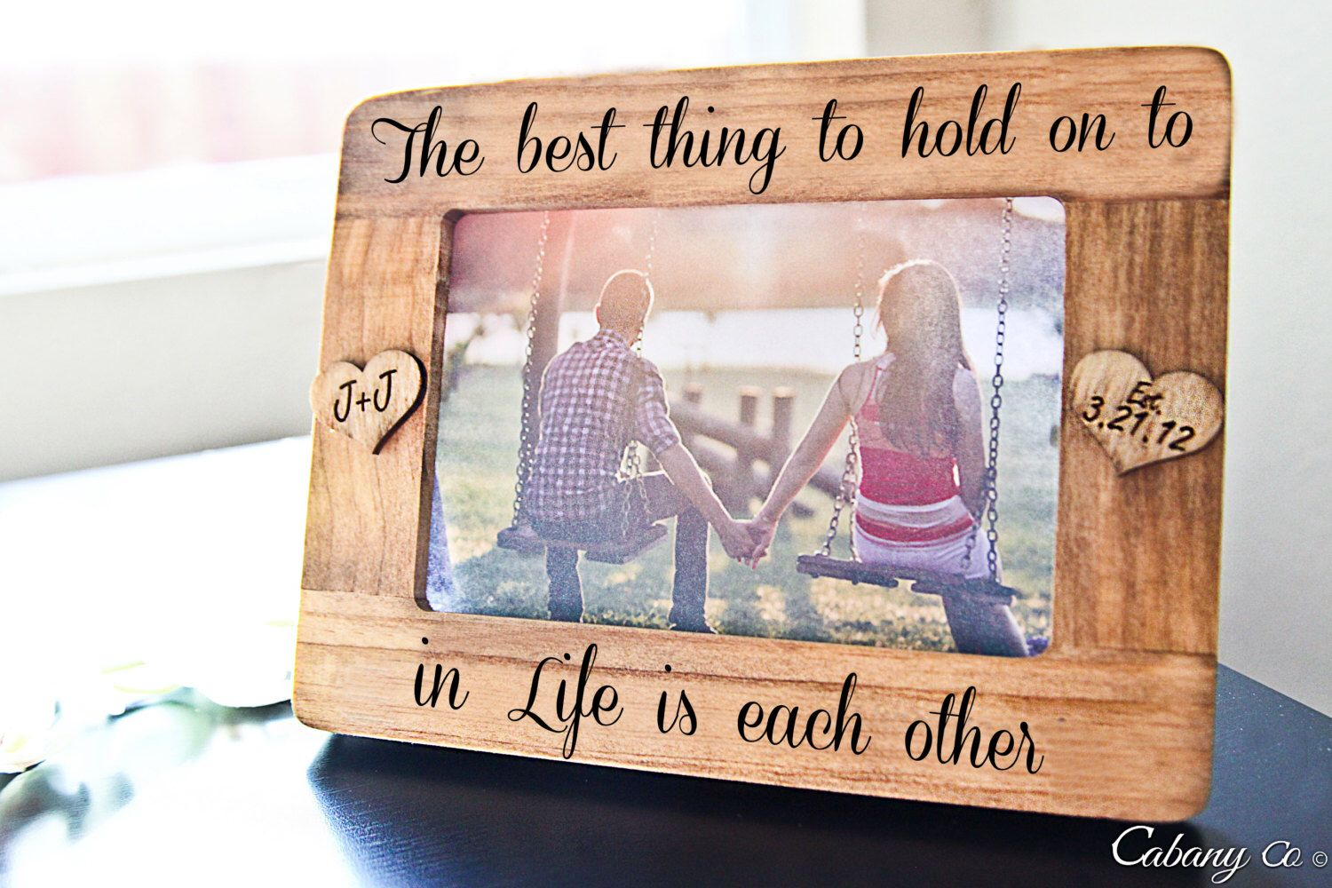 Personalized picture frame engraved frame for couple engagement personalized picture frame engraved frame for couple engagement anniversary wedding gift gift jeuxipadfo Choice Image