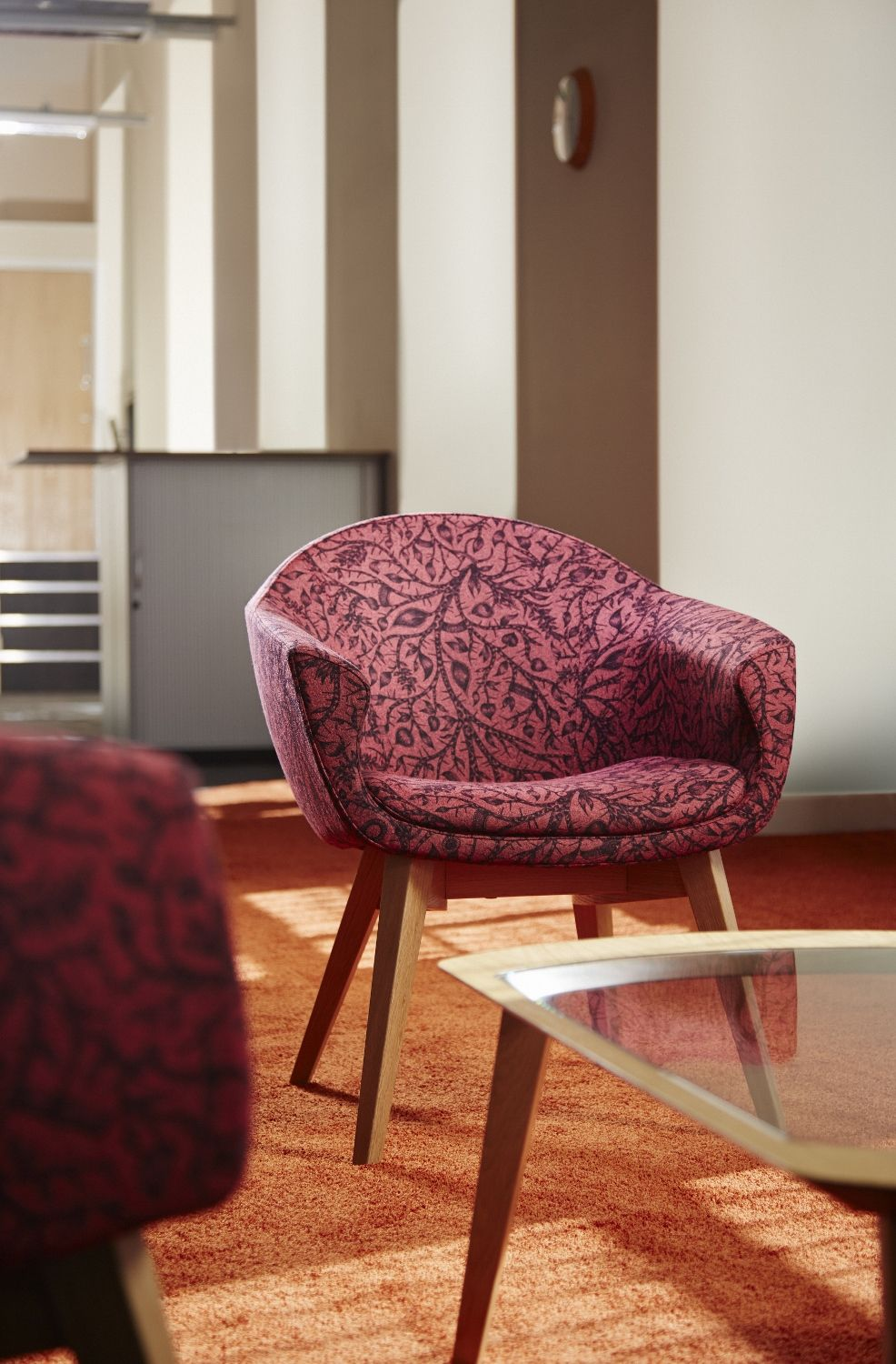 Mortimer Chairs In @Camira Fabrics Tangled Fabric By @Emma Zangs J Shipley
