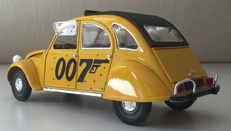 Citroen 2cv James Bond 1 17 Solido Citroen 2cv Cars Citroen