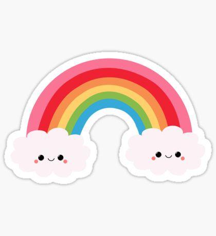 Kawaii Stickers Kawaii Stickers Rainbow Stickers Rainbow Art