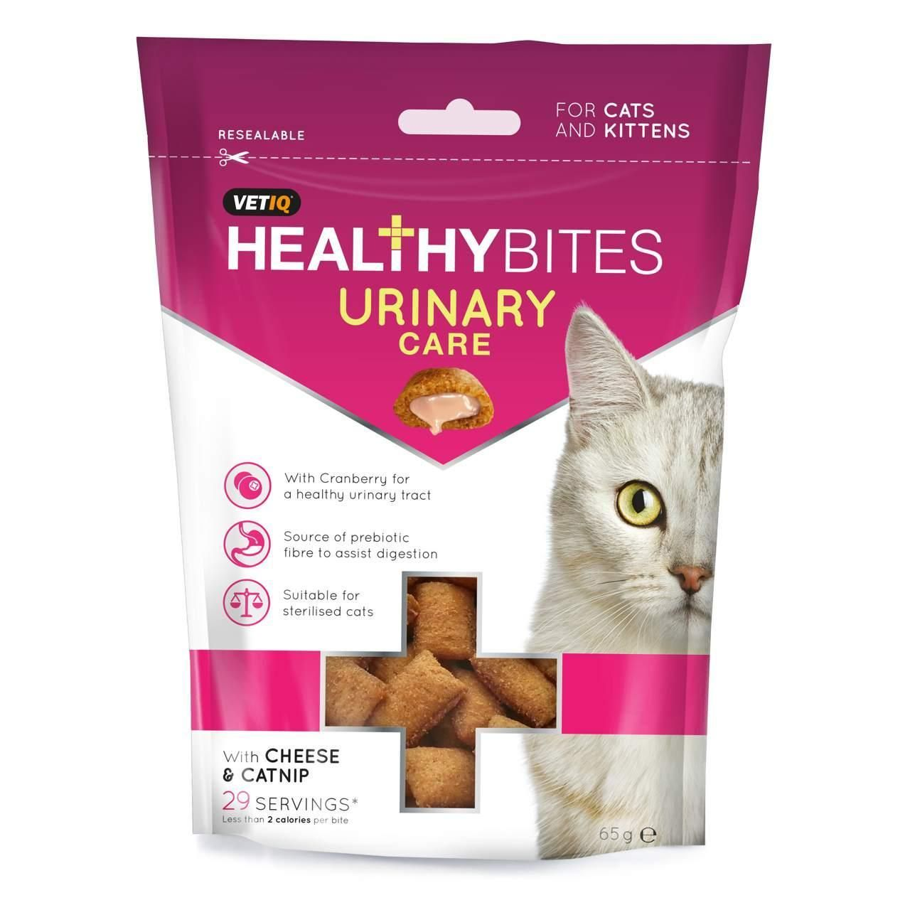 Healthy Bites Urinary Care Comprise Of A Crispy Cereal Shell With A Health Enhancing Cream Filled Centre Packed Wi Kitten Treats Cats And Kittens Healthy Bites