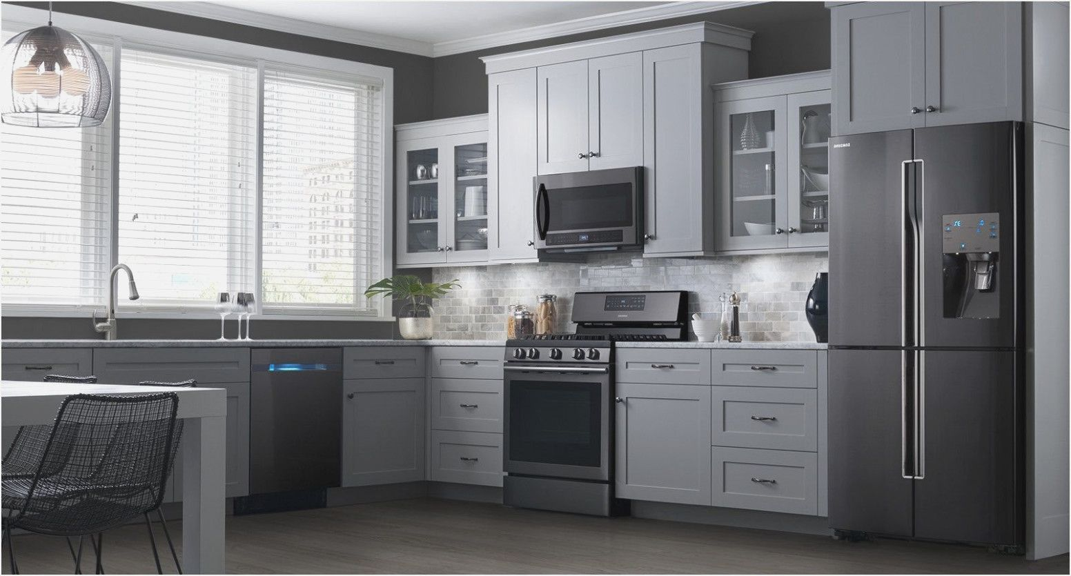 Kitchenaid Samsung Black Stainless Steel Appliances Reviews From
