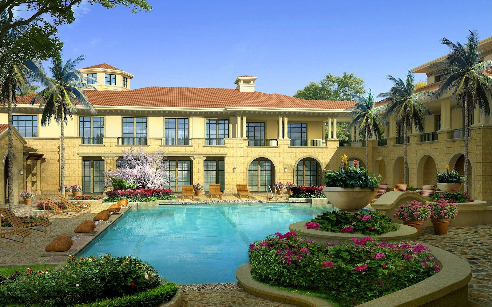 Luxury House Wallpapers