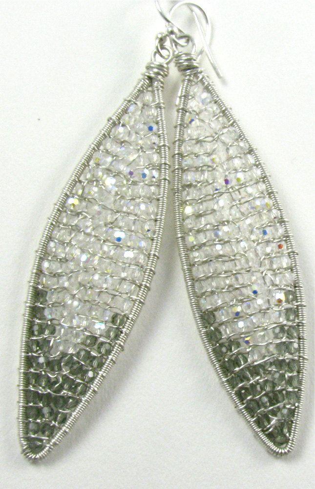 Silver Crystal Seduction. $200.00, via Etsy.