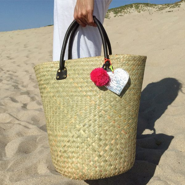 Balinese Woven Tote with Short handle