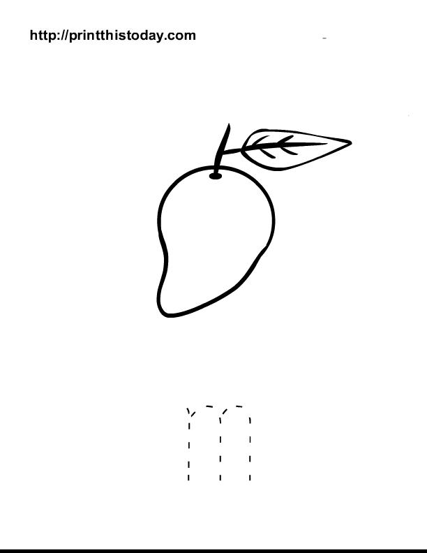 Free Printable Alphabet M Tracing Worksheets Teaching Pinterest