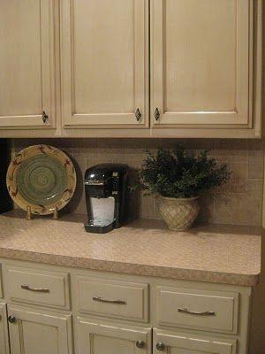 Glazed Upper Cabinets Versus Unglazed Lower Cabinets Subtle Yet Impressive Difference Glazed Kitchen Cabinets Painting Kitchen Cabinets Glazing Cabinets