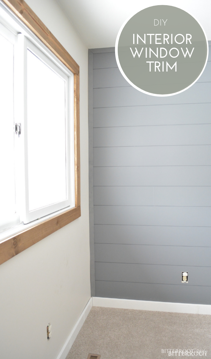 Easy Diy Farmhouse Interior Window Trim Interior Window Trim Diy Interior Window Trim Diy Interior Trim
