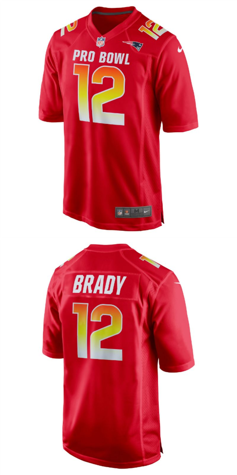 sale retailer 9ac76 4f3d8 UP TO 70% OFF. Tom Brady AFC Nike 2018 Pro Bowl Game Jersey ...