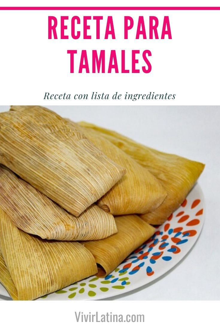 Receta para Tamales Típicos Fácil