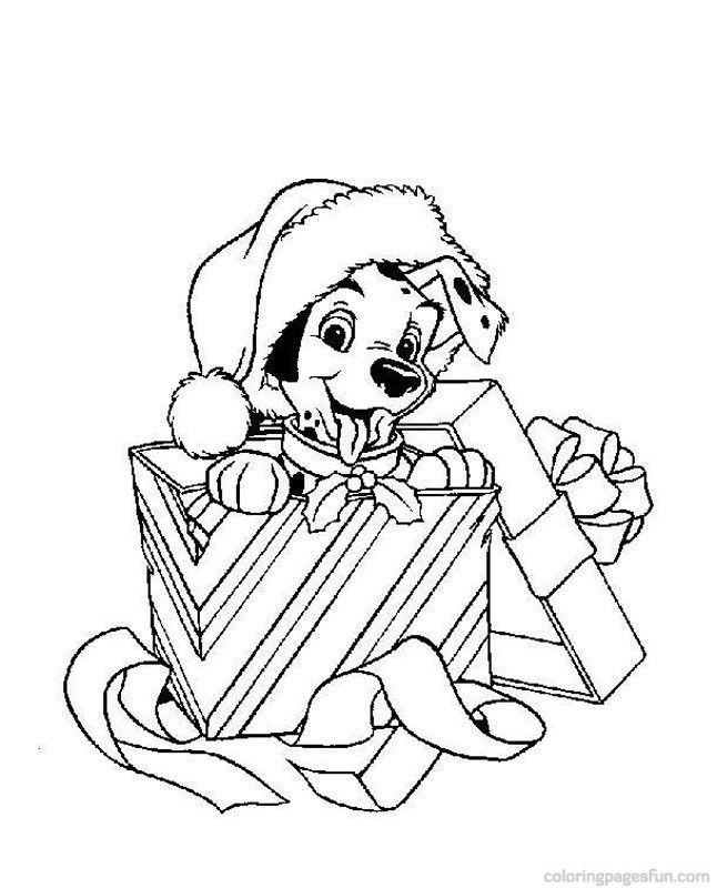 Free Printable Disney Christmas Coloring Pages 3130