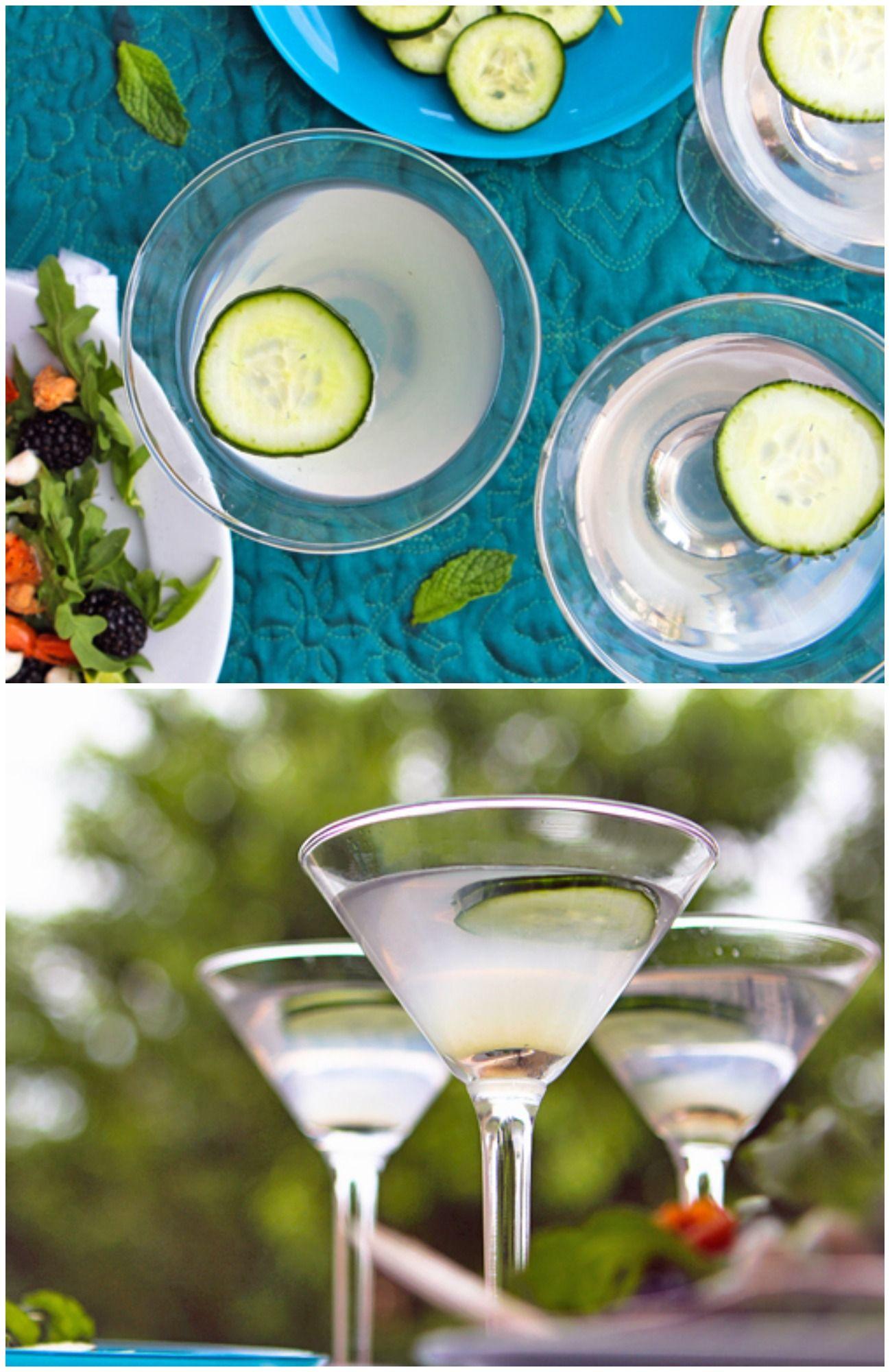 Cucumber-Lime Martini